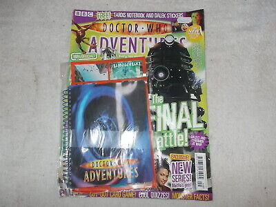 Doctor Who Adventures DWA Magazine Issue 17 15th November 2006 Notebook Stickers • 10£