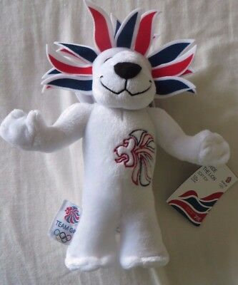 London Olympics 2012 Pride The Lion Mascot Cuddly Toy - Brand New • 9.99£