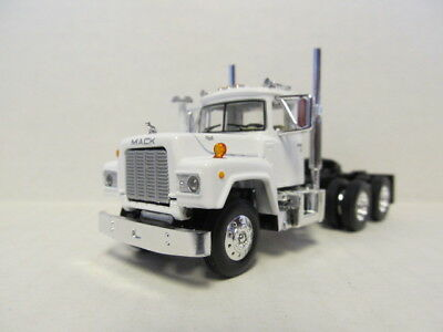 $45 • Buy 1st Gear 1/64 Scale  R Model Mack Day Cab, White, Black Frame  Same Scale As Dcp