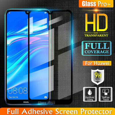 AU6.95 • Buy GLASS PRO+ For Huawei Y5 Y7 Pro 2019 Full Cover Tempered Glass Screen Protector