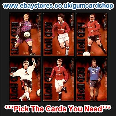 Futera Manchester United 1997 – Red Hot (Silver) *Please Choose Cards* • 1£