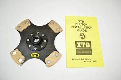 $47 • Buy Xtd Stage 5 4 Puck Unsprung Clutch Disc Fits Hyundai Mitsubishi