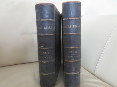 £120 • Buy Cassells Illustrated Family Bible In 2 Vols 1850