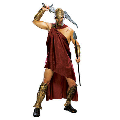 £28.99 • Buy Deluxe 300 Spartan Warrior Costume Gladiator Movie Film Fancy Dress Mens Outfit