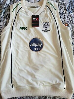 £25 • Buy Worcestershire County Cricket Slipover/Pullover - Men's L BNWT