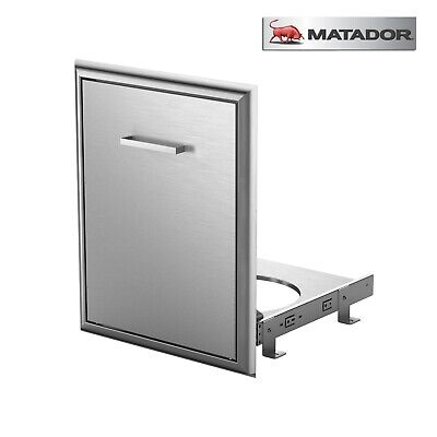 AU249 • Buy Matador Slide In Out BBQ Gas Cylinder Drawer Stainless Steel For Built In BBQ