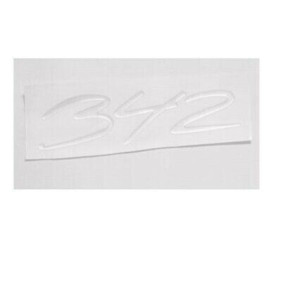Baja Boat Raised Emblem Decal 35th Anniversary Blue Red Silver 1805471