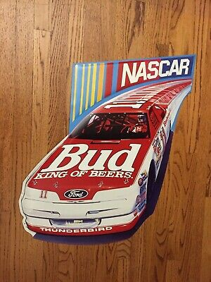 $ CDN75.95 • Buy Budweiser Bud NASCAR Embossed Metal Tin Sign