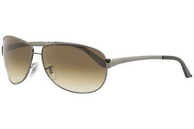 fe67f988d78a7 Ray Ban Men s Warrior RB3342 RB 3342 00451 RayBan Gunmetal Pilot Sunglasses  63mm • 129.95