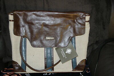 Isabella Fiore Wheeled Travel Tote / Bag/ Luggage New With Tags MSRP $345 WOW!!! • 50.06£