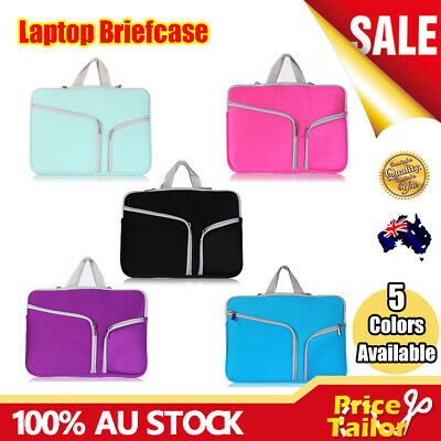 AU15.95 • Buy OZ Notebook Laptop Sleeve Case Briefcase Carry Bag Pouch Cover 11 13 14 15.6