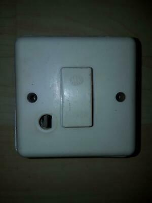 Vintage Wylex Bakelite Fused Spur Light Cooker Switch 13A Fused Switched Spur  • 16.98£