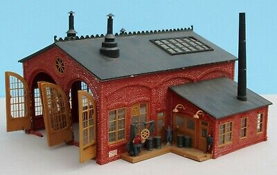 Pikestuff Small 1 or 2 stall Enginehouse HO Scale Kit NEW!