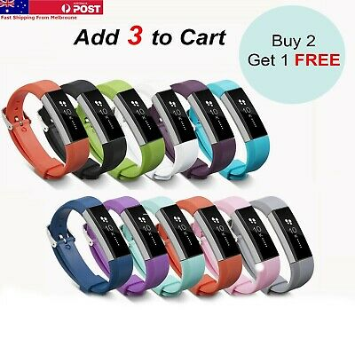 AU5.35 • Buy For Fitbit Alta HR Band Replacement  Strap Wristband Buckle Bracelet Fitness