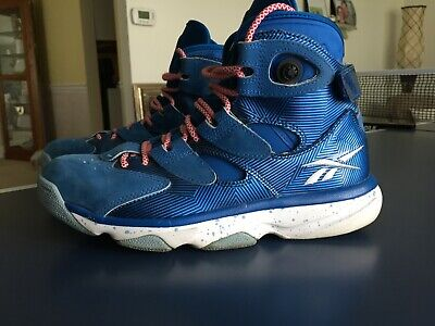 2499204cf30e Reebok Pump Shaq Attack Mens 9 Blue Red • 19.00