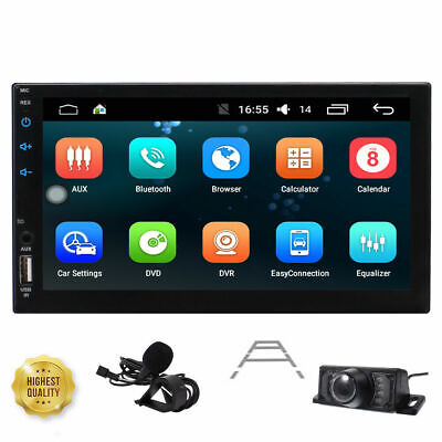 AU239.09 • Buy AU STOCK!!7 Android 10.0 Double 2-DIN Car GPS Stereo Head Unit OBD2 DAB+ WIFI 4G