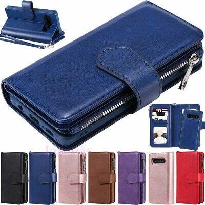 $ CDN14.68 • Buy For Samsung Galaxy S20 S10 S9 S8+ Magnetic Detachable Leather Wallet Case Cover