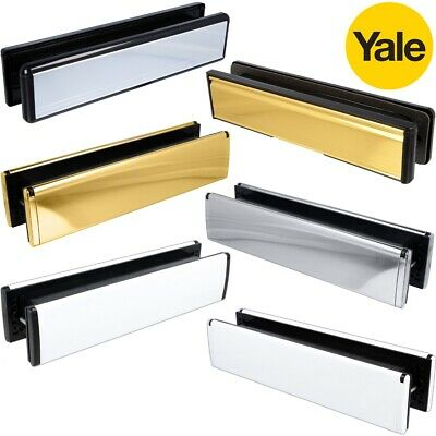 12  UNIVERSAL FIT Letterboxes Letter Plate Box Flap Plate Front Door UPVC Wood • 24.21£
