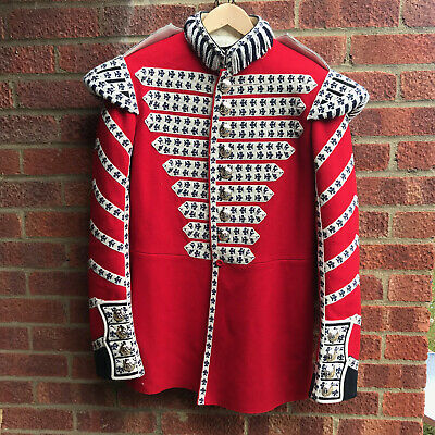 Uk British Army Surplus Issue Grenadier Guards Durmmers Red Parade Uniform Tunic • 375£