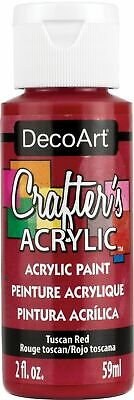 Crafter's Acrylic All-Purpose Paint 2oz-Tuscan Red (5pk) • 10.61£