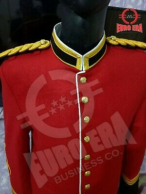Anglo Zulu War British Army Officers Tunic Pelisse Jacket With Epaulettes • 145.56£