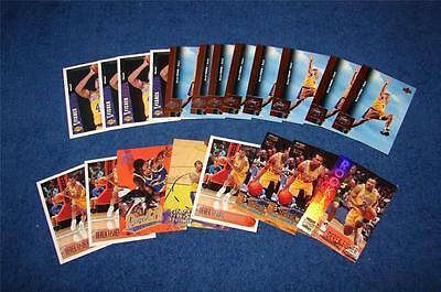 Derek Fisher Los Angeles Lakers Lot Of 20 Rc's & Rookie Year Inserts (wj315) • 3.82$
