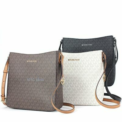 c07089b39802c4 New Michael Kors Jet Set Travel Large Messenger Crossbody • 99.95$