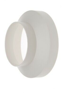 6 /150mm TO 5 /125mm ROUND PIPE REDUCER VENTILATION DUCTING ADAPTOR WHITE  • 5.55£