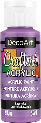 Deco Art DCA-26 Crafter's Acrylic All-Purpose Paint 2oz-Lavender (6Pk) • 9.01£