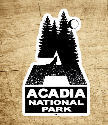 $5.29 • Buy Acadia National Park Maine Sticker Decal 3 3/4  X 2 1/8  Vacation