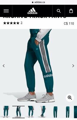 $ CDN65 • Buy Adidas Archive Track Pants