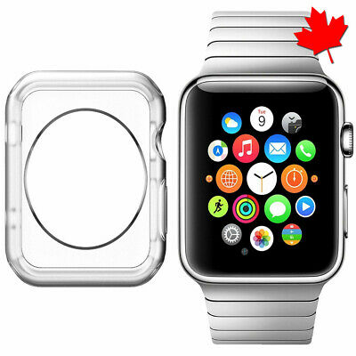 $ CDN4.27 • Buy Apple Watch Case Series 1 2 3 Protective TPU Clear 38mm / 42mm