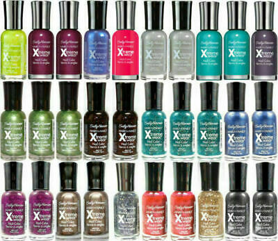 SALLY HANSEN HARD AS NAILS XTREME WEAR (Choose Any 3 And Only Pay For 2) • 3.99£