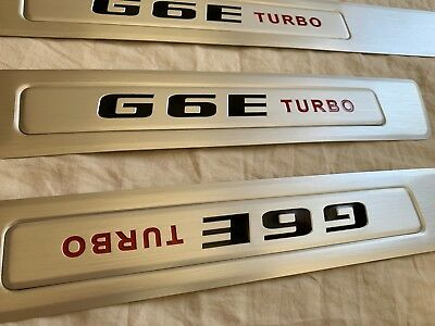AU62 • Buy G6e Turbo Falcon Door Seal Scuff Plate Set Suits Ford Fg Series, Front And Rear