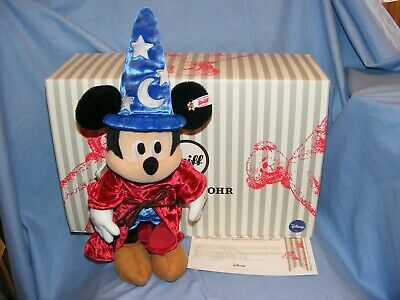 $362.11 • Buy Steiff Disney Mickey Mouse Sorcerers Apprentice Limited Edition 354397 New 2019