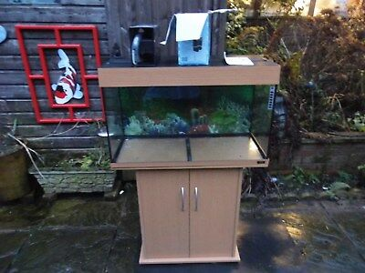 £300 • Buy Juwel Rio 125 With Lights And (brand New Sump And Overflow Box)