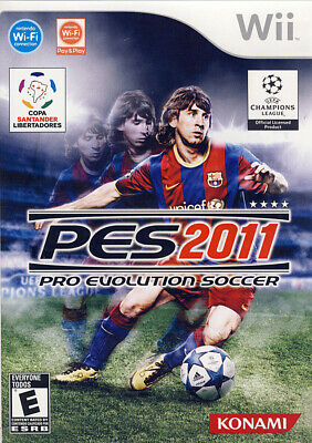 AU21.13 • Buy Pro Evolution Soccer 2011 New Nintendo WII