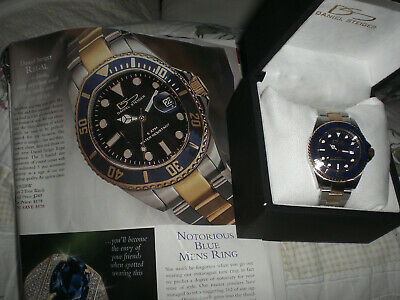 Daniel Steiger  REGAL 2 Tone Submariner KLAUS KOBEC, Blue S3052T-M New!ZEITNER • 95$