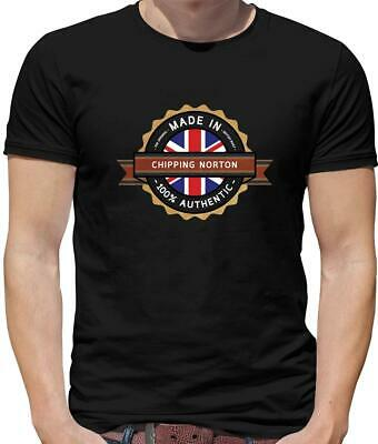 £12.95 • Buy Made In Chipping Norton Mens T-Shirt - Town - Hometown - Born In - Cotswolds