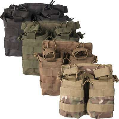 £8.95 • Buy Mil-Tec Open Top Double Magazine MOLLE Ammo Pouch Airsoft Military Tactical Army