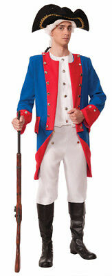 $31.99 • Buy Mens Deluxe Colonial General Costume Size Standard