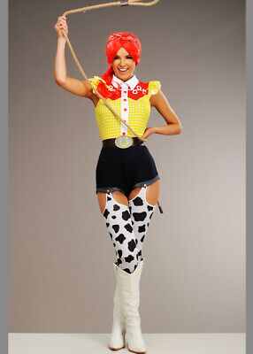 £49.49 • Buy Womens Deluxe Jessie Style Cowgirl Costume