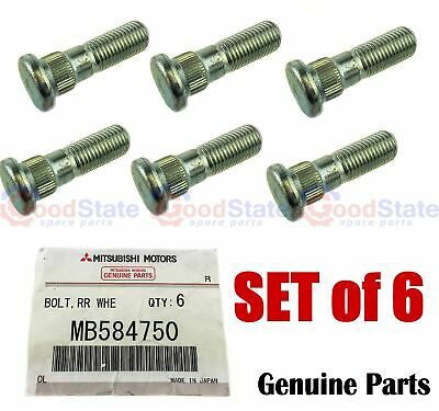 AU43.53 • Buy GENUINE Mitsubishi Triton MH MJ MK ML MN MQ MR Wheel Stud Set Of 6