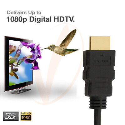 $ CDN7.38 • Buy Short And Long HDMI Cable 1080p Ethernet ARC HDTV 1.5 2 3 6 10 15 25 30 50 60 FT