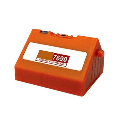 Red Ink Cartridge For Pitney Bowes E700 E725 E726 • 9.43£