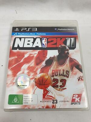 AU8.99 • Buy Nba 2k11 Basketball Game For  Ps3 Vgc (michael Jordan) With Manual