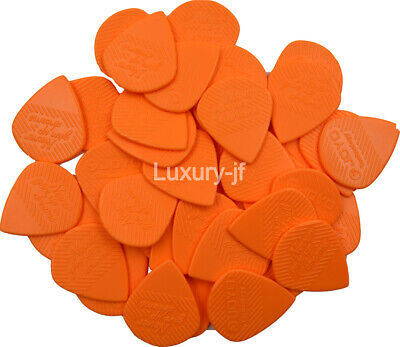 $ CDN11.99 • Buy Orange/Black 40pcs Joyo Non-Slip Jazz Guitar Bass Picks Heavy 1.4mm Durable POM