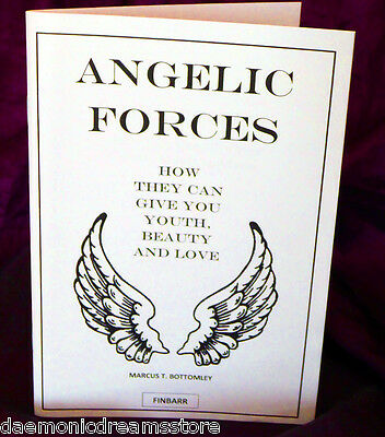 £28.70 • Buy ANGELIC FORCES  Finbarr Occult  Magick Grimoire.Marcus T. Bottomley. Angel