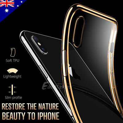AU5.95 • Buy For IPhone X XS Max XR IPhone 8 Plus IPhone 7 Plus Thin Soft Silicone Case Cover