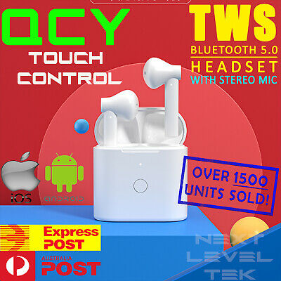 AU17.49 • Buy TWS Wireless Bluetooth Headphones For Earpods IOS Android Earbuds Sports TEK